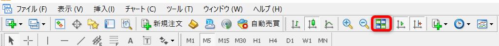"<img src=""img_60c80cf9a0208.png"" alt=""MT4 ツールバー 複数チャート 表示"">"
