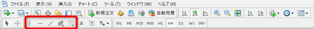 """<img src=""""img_60c8107e26ea4.png"""" alt=""""MT4 ライン ツールバー"""">"""